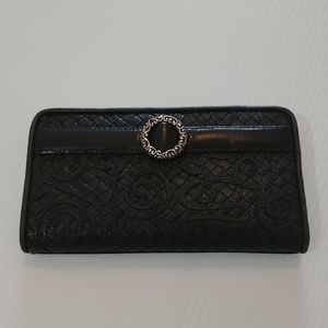 Brighton Weaved Leather Wallet